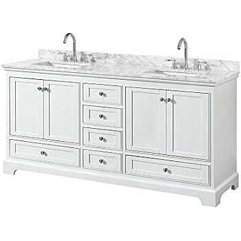 Amazon.com: Nantucket 72-inch Double Bathroom Vanity ...
