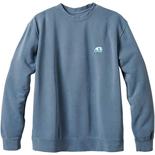 (Enjoi Men's Small Blue Panda Patch Sweater,Large,Pigment Slate)