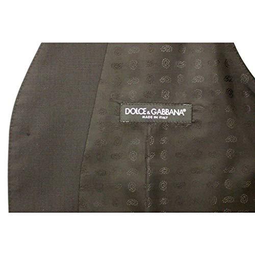 Amazon.com  Dolce   Gabbana Black Wool Silk Dress Vest  Clothing 46f17db38aa70