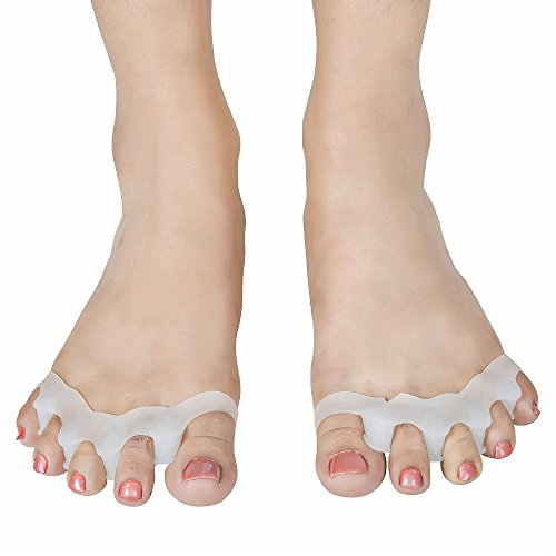 Silicone 5-Toe spacer | Gel Toe Separator Bunion Guard| Pain relief and Foot Rejuvenation (Rejuvenation Foot)