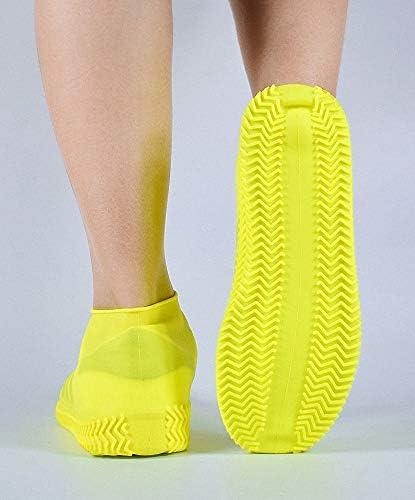GH GHawk/® Couvre-Chaussures en Silicone imperm/éable /à leau Couvre-Chaussures r/éutilisables imperm/éables Pliables pour Hommes Femmes Enfants