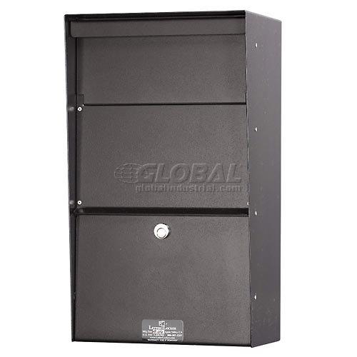 Jayco LLAVW Wall Mount Vertical Aluminum Letter Locker Mailbox Bronze