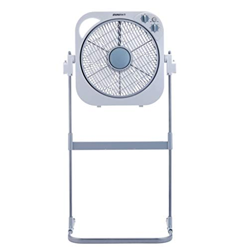 Pedestal Stand Fan with Support Frame - Electric Cooling Fan 3 File Wind Speed Adjustment 40W (File Return Pedestal)