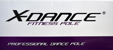 X-Dance 50mm Gold Chrome 9Ft Dance Pole Portable Fitness Exercise Exotic Strip and Spin + Bag by X-Dance (Image #7)