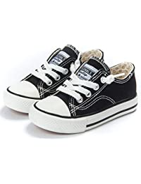 buy online 389d8 74125 Toddler Little Kid Boys and Girls Slip On Canvas Sneakers