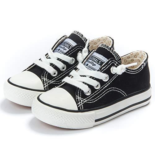 Weestep Canvas Sneaker (2, Black)