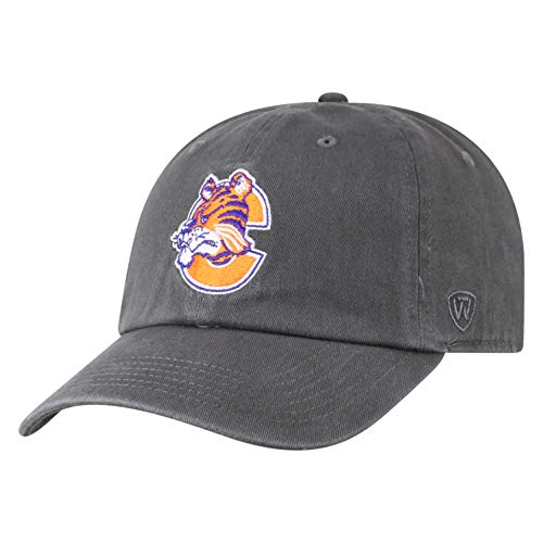 Top of the World Clemson Tigers Men's Vintage Hat Vault Icon, Charcoal, ()
