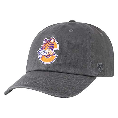 Top of the World Clemson Tigers Men's Vintage Hat Vault Icon, Charcoal, Adjustable