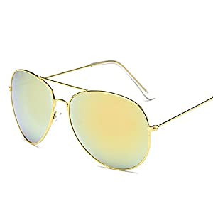 Sunglasses Motop Men Women Square Vintage Mirrored Sunglasses Eyewear Outdoor Sports Glasses (G, 0)