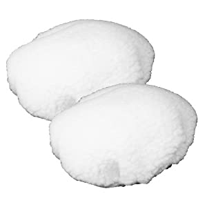 Black & Decker WP900 Polisher (2 Pack) Replacement Wool Bonnet # 580753-01-2pk