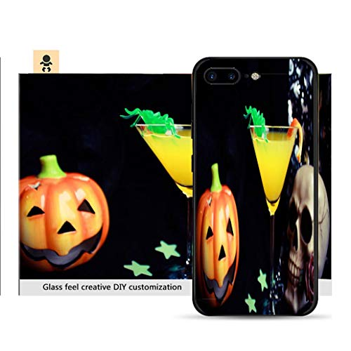 iPhone 7p / 8p Ultra-Thin Phone case Spooky Halloween Drink Resistance to Falling, Non-Slip, Soft, Convenient Protective case -