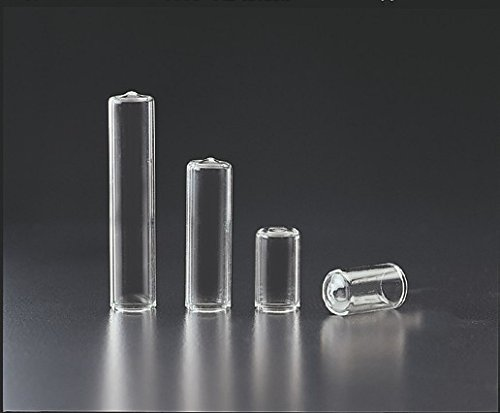 JG Finneran 4050-917 Borosilicate Glass Conical Vial for 96-Well Micro Plate System, 0.5ml Capacity (Case of 100) ()