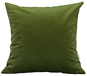 Throw Pillow Options : Amazon.com: TangDepot Solid Velvet Throw Pillow Cover/Euro Sham/Cushion Sham, Super Luxury Soft ...