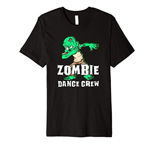 Halloween Zombie Dance Crew Dabbing Breakdancing Shirt