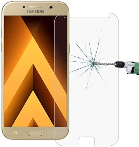 2017 ScreenProtector YHM 100 PCS for Galaxy A5 // A520 0.26mm 9H Surface Hardness 2.5D Explosion-Proof Tempered Glass Non-Full Screen Film