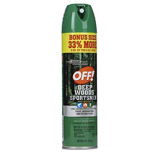 OFF! Deep Woods Sportsmen Insect Repellent, 8 (Deep Woods Aerosol)