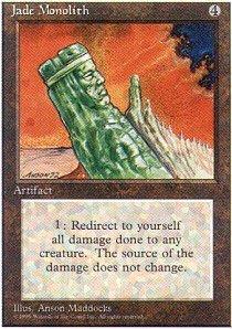 Magic: the Gathering - Jade Monolith - Fourth Edition ()