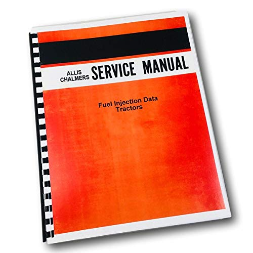 Allis Chalmers Fuel Injection Data Roosa Master Pump D Series Service Manual -  AgPubs, M-54675