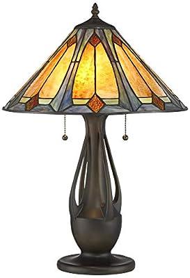 Robert Louis Tiffany Gerald Arts-Crafts Accent Table Lamp