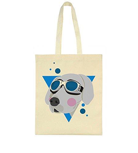 With Glasses Dog Super Bag Tote Cool RFwxqS