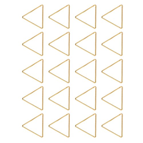 MagiDeal 20 Pieces Alloy Geometric Triangle Pendant Connector DIY Necklace Bracelet Charms - -