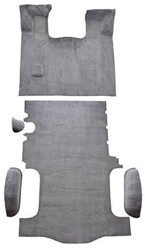 ACC Carpet Kit Compatible with 1996 to 2002 Chevrolet Express Van, Short Wheelbase, Complete Kit (897-Charcoal Plush Cut Pile)