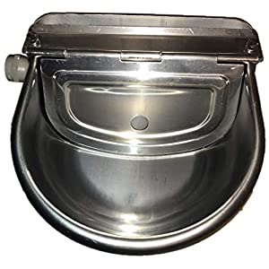 Automatic Farm Grade Stainless Stock Waterer Horse Cattle Goat Sheep Dog Water by Rabbitnipples.com 24