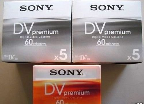 SONY Mini DVM Premium 60 Minute 5pk.