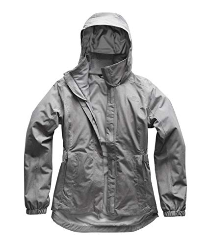(The North Face Women's Resolve Parka II, TNF Medium Grey Heather, Size M)