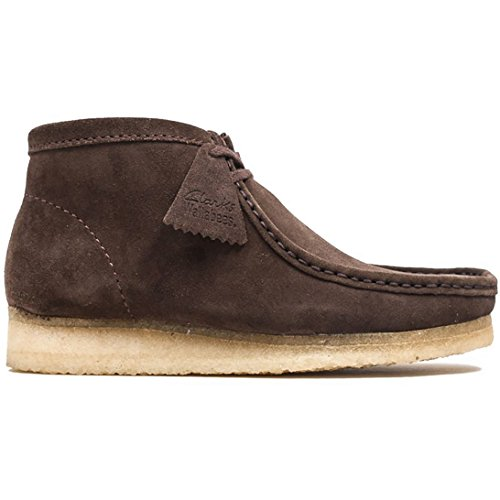 Brown Dark Originals Kurzschaft Clarks Stiefel Boot Suede Herren Wallabee dx0ppqwnYB