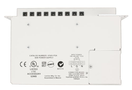 Leviton 47605-PSA Universal Power Supply, - Leviton Universal Module Control