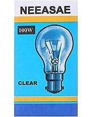 لمبة كلاسيكية قياسية 100 واط من نيساي B22 - شفاف