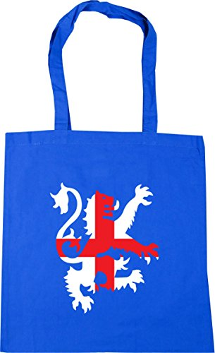 Gym Football 42cm litres Blue lion Shopping flag 10 HippoWarehouse Beach Bag Cornflower x38cm Tote england AqFwggYB