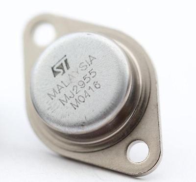 (Bestol 10pcs TO-3 MJ2955 Amp Audio Power Transistor)