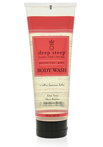 Deep Steep Body Wash, Passion Fruit Guava, 8 Ounce