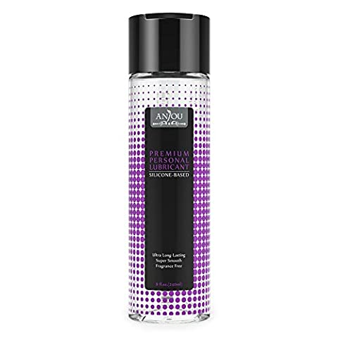 Anjou Silicone Personal Lubricant Intimate Sex Lube for Women, Men and Couples 510(k) FDA Approved, Suitable for All Non-silicone Sex Toys, Condoms and Sensitive Skin - (Sex Toys)