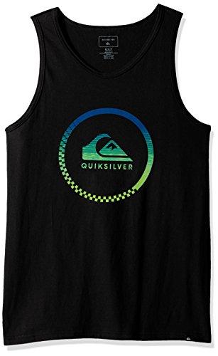 Quiksilver Men's Active Momentum Tank T-Shirt, Black, Small