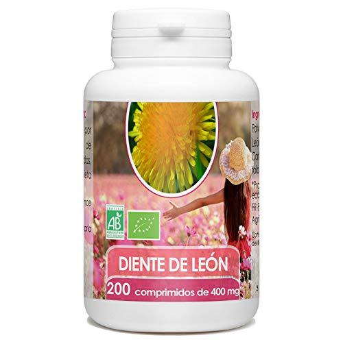 Diente de Leon Organico - 400mg - 200 comprimidos