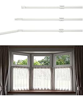Flexi Net Curtain Rod Flexible For All Shapes Of Bay And Straight