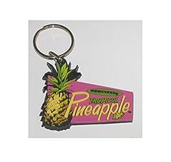 Dekuyper Tropical Pineapple Key Chain Ring