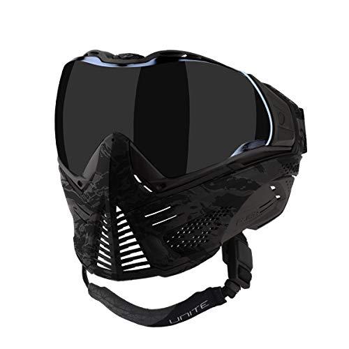 Push Unite Paintball Mask w/Smoke Lens Black Camo