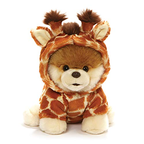 GUND World's Cutest Dog Boo Giraffe Stuffed Animal Plush, Multicolor, 9
