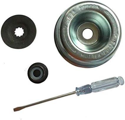 Disco de apriete, arandela de presión, destornillador, de AM, para desbrozadora Stihl, juego de fijación FS para cuchillo M10: Amazon.es: Bricolaje y herramientas