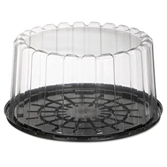 Amazon Com Pactiv Showcake Two Piece Cake Containers