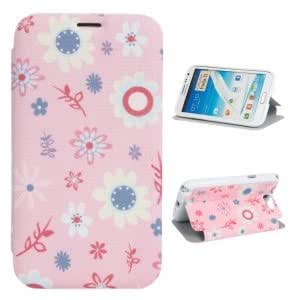 XY-81 PU Leather and Plastic Simple Serious Protective Case for Samsung N7100