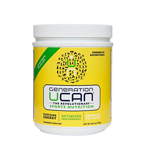 Generation UCAN SuperStarch ® Energy Drink Mix Tub, Lemonade, No Added Sugar, Gluten-Free, Vegan, 26.5 Ounces, 30 Servings