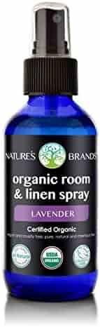 Herbal Choice Mari Organic Room & Linen Spray Lavender 100ml/ 3.4oz Glass Spray Bottle