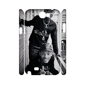 Qxhu Will Smith patterns Hard Plastic Cover Case for Samsung Galaxy Note2 N7100 3D case