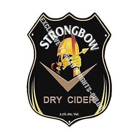 Strongbow Seco sidra. Publicidad Bar Antiguo Pub Bebidas ...