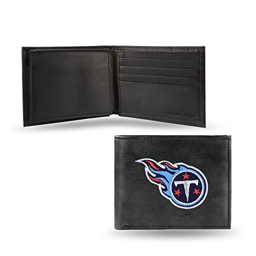 (NFL Tennessee Titans Embroidered Leather Billfold Wallet)